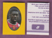 Arsenal Kolo Toure Ivory Coast 8 B